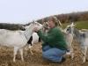 Cindy & Goats