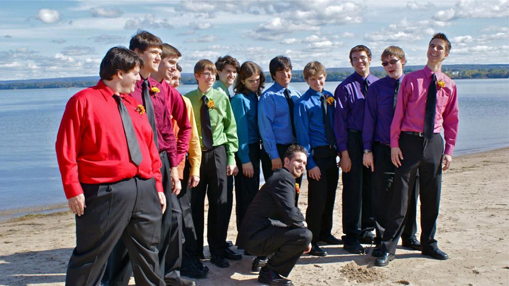 Trevor with the Brick City Singers